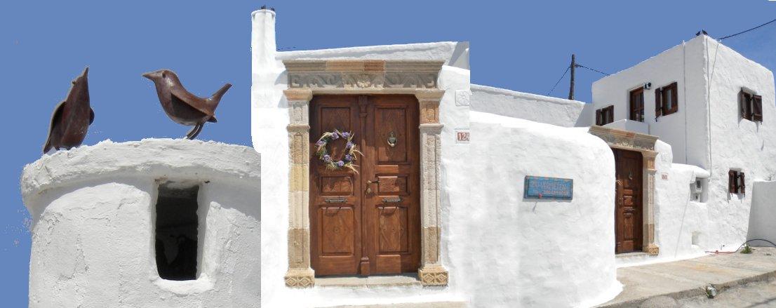 Turmhaus-Lachania-Rhodos-Griechenland