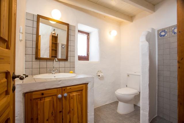 Toilettenbereich des separaten Gästezimmers